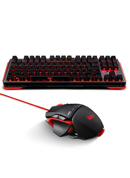 宁美玩购(Mayn)GT510 定制黑轴游戏机械键鼠套装