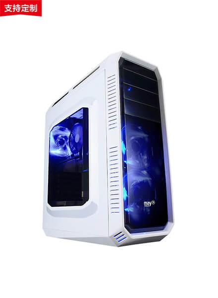 宁美玩购 GTX1050Ti/i5 独显台式主机DIY游戏电脑吃鸡   LOL开黑神器